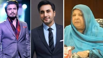 شوبز ستاروں کا وزیر صحت پنجاب یاسمین راشد کو خراجِ تحسین