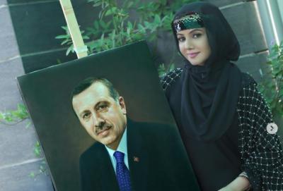 رابی پیرزادہ ترک صدر کو پینٹنگ کا تحفہ دینے کیلئے بےتاب