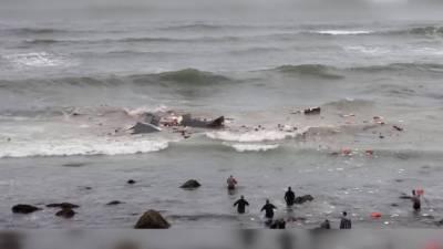 امریکہ،کشتی سمندر میں الٹنے سے 4 افراد ہلاک، 25 سے زائد زخمی