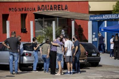 برازیل، ڈے کیئر سنٹر پر چاقو بردار نوجوان کا حملہ، 3 بچوں سمیت 5 افراد ہلاک