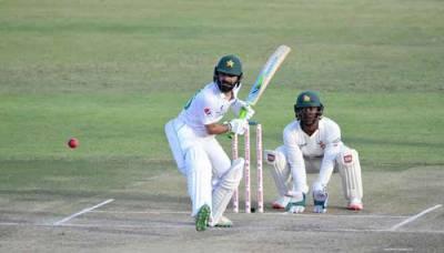 پاکستان اور زمبابوے کے درمیان دوسرا ٹیسٹ میچ جمعہ سے شروع ہو گا