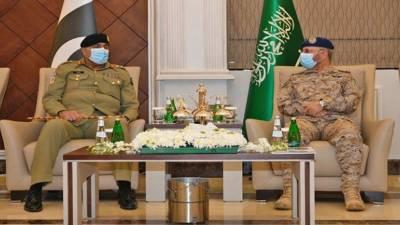 آرمی چیف کا پاکستان اور سعودی عرب کے مابین فوجی تعاون کو بڑھانے پر زور