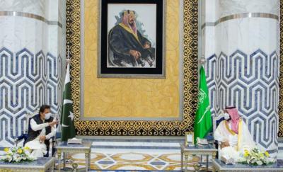 وزیراعظم عمران خان کا دورہ سعودی عرب، ولی عہد سے ملاقات کا اعلامیہ جاری