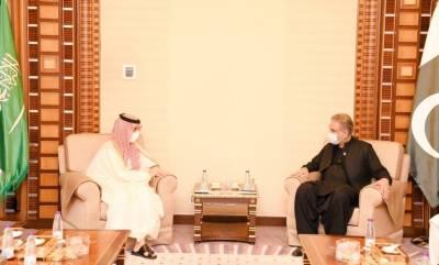 وزیر خارجہ کی سعودی ہم منصب سے ملاقات،سعودی پاکستان سپریم کوآرڈینیشن کونسل کا قیام خوش آئند قرار