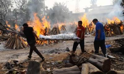 بھارت کی جنوبی ریاستوں میں کورونا تیزی سے پھیلنے لگا،401078نئے کیسز رپورٹ