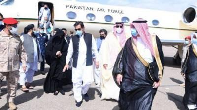 وزیراعظم عمران خان مدینہ منورہ پہنچ گئے