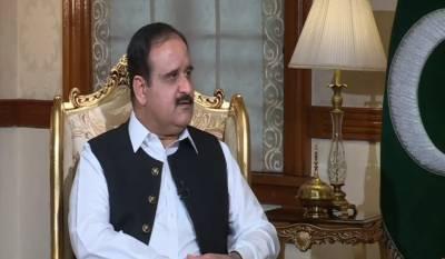 وزیراعظم عمران خان جب کہیں گے استعفی دے دوں گا: وزیراعلیٰ پنجاب