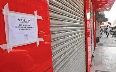 اسلام آباد میں کورونا ایس اوپیزکی خلاف ورزی پرکارروائیاں