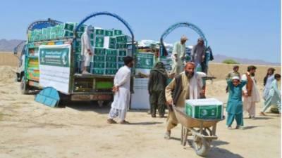 سعودی عرب کی جانب سے 20 ہزار سے زائد پاکستانی خاندانوں میں راشن تقسیم