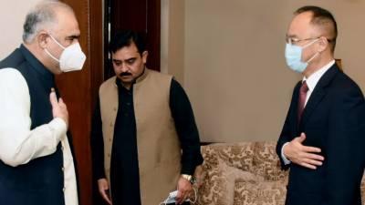 چین کے سفیر نونگ رونگ کی اسپیکر قومی اسمبلی اسد قیصر سے ملاقات، دوطرفہ تعلقات، اہم علاقائی و عالمی امور سمیت باہمی دلچسپی کے دیگر امور پرتبادلہ خیال