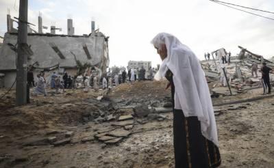 اسرائیلی بربریت کی انتہا، غزہ پر بمباری جاری، شہدا کی تعداد 109 تک پہنچ گئی