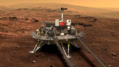 چین کی بڑی کامیابی ،مریخ پر خلائی جہاز اتارا