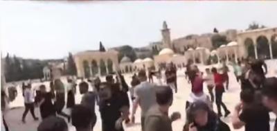 اسرائیل کا ایک بار پھر مسجد اقصیٰ پر حملہ
