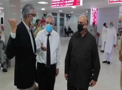 ڈاکٹر فیصل سلطان کا اسلام آباد کے مختلف ہسپتالوں کا دورہ، سہولیات کا جائزہ