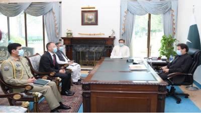 وزیراعظم سے چینی سفیر کی ملاقات، پاک چین تعلقات، سی پیک منصوبوں پر تبادلہ خیال