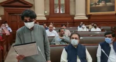 چوہدری نثار نے پنجاب اسمبلی کی رکنیت کا حلف اٹھالیا