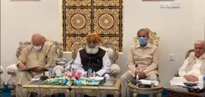 فضل الرحمان کی زیرصدارت پی ڈی ایم اجلاس جاری
