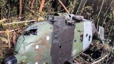 کولمبیا میں ہیلی کاپٹر حادثے کا شکار، 5 پولیس اہلکار ہلاک