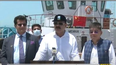 گوادر پورٹ کو مکمل طور پر فعال کر دیا گیا ہے ، عاصم سلیم باجوہ