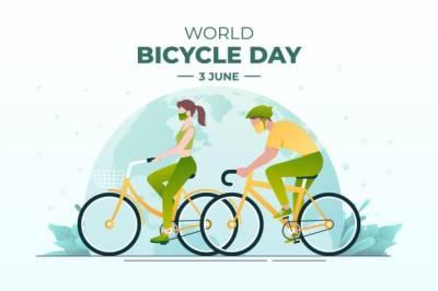 دنیا بھر میں آج سائیکلنگ ڈے منایا جا رہا ہے
