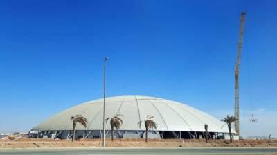 سعودی عرب میں ستونوں کے بغیر دنیا کا سب سے بڑا گنبد تیار