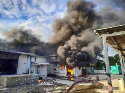 بھارت: کیمیکل فیکٹری میں خوفناک آتشزدگی،18 افراد ہلاک , متعدد زخمی