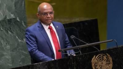 مالدیپ کے وزیر خارجہ عبداللہ شاہد اقوام متحدہ کی جنرل اسمبلی کے صدر منتخب