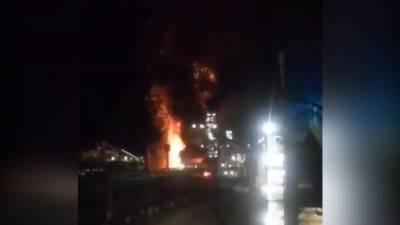 ایران کے صوبہ البرز کی فوڈ فیکٹری میں آتش زدگی،24افراد زخمی