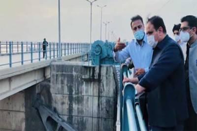 وزیراعلیٰ پنجاب عثمان بزدار کا ہیڈ قادرآباد کا دورہ