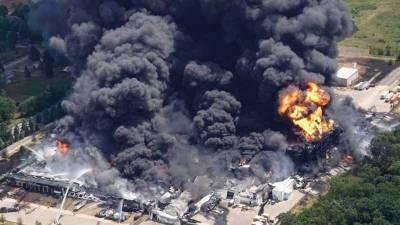امریکہ ،کیمیکل پلانٹ میں دھماکے کے بعد آگ لگ گئی،واقعہ میں کوئی جانی نقصان نہیں ہوا