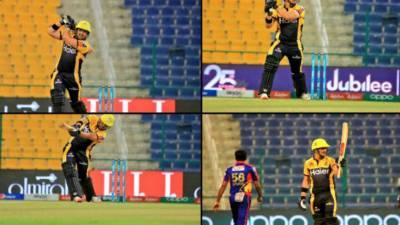 پشاور زلمی نے کراچی کنگز کو بآسانی 6 وکٹوں کے ساتھ شکست دے دی