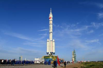 چین نے خلائی اسٹیشن کی تعمیر کیلئے شین ژو-12 کے خلا بازوں کا اعلان کر دیا
