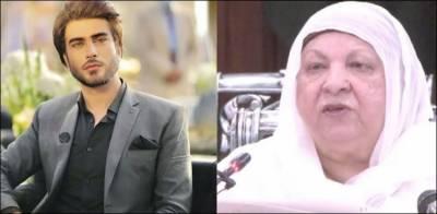 عمران عباس ڈاکٹر یاسمین راشد کی ہمت و حوصلے سے متاثر