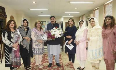 پاکستان کی ترقی کے لئے خواتین کو پاکستانی معیشت میں شامل کرنا ناگزیر ہے،وزیر داخلہ