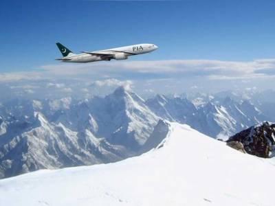 پی آئی اے کی پہلی ایئر سفاری پرواز روانہ