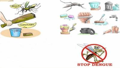عوام اپنے گھروں کی صفائی کیلئے اپنا کردار ادا کریں