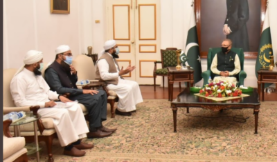 مساجد معاشرتی خدمات کو عوام تک پہنچانے کیلئے بہترین ذریعہ ہیں ،عارف علوی