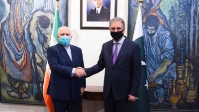 وزیر خارجہ شاہ محمود قریشی کی ایرانی ہم منصب جواد ظریف سے ملاقات
