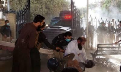 بلوچستان اسمبلی میں ہنگامہ آرائی کا مقدمہ درج