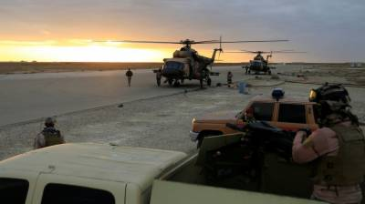 عراق میں امریکی فوجی اڈے پرراکٹ حملوں میں ملوث چار ملزمان گرفتار