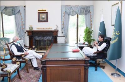 وزیرِ اعظم سے چیئرمین پاکستان کرکٹ بورڈ احسان مانی کی ملاقات