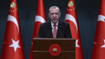 ترک صدر نے لاک ڈاؤن ختم کرنے کا اعلان کر دیا