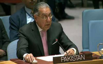 پاکستان نے اقوام متحدہ کے انسانی حقوق اجلاس میں بھارت کا مکروہ چہرہ بے نقاب کردیا