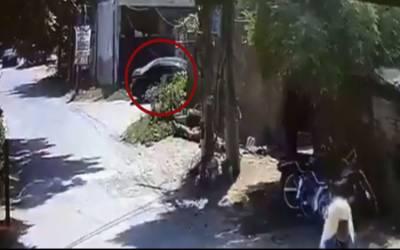 لاہور:جوہرٹاون دھماکے میں اہم پیش رفت،مشتبہ شخص زیرحراست