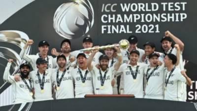 آئی سی سی ٹیسٹ چیمپئن شپ کا پہلا ٹائٹل نیوزی لینڈ نےبھارت کو شکست دے کر اپنے نام کر لیا