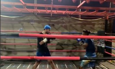 فیروز خان کی باکسنگ کرتے ویڈیو وائرل