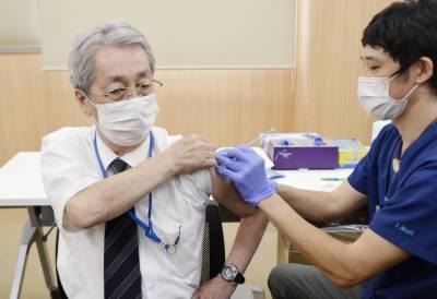 جاپان کے نصف سے زیادہ معمر افراد نے کورونا کی پہلی ویکسین لگوا لی