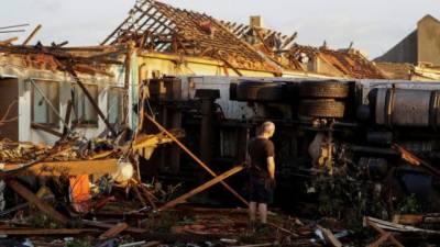 جمہوریہ چیک میں تباہ کن ٹورناڈو کی زد میں آکر تین افرادہلاک،200زخمی