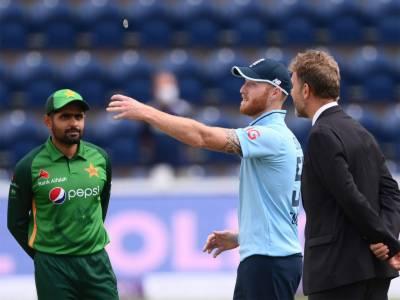 انگلینڈ کا پاکستان کے خلاف ٹاس جیت کر فیلڈنگ کا فیصلہ