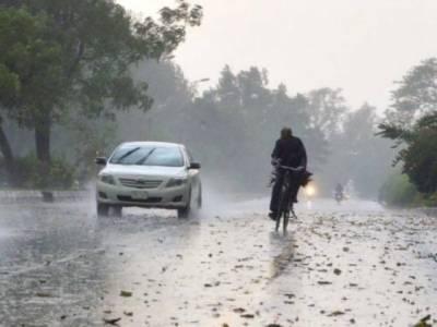 ملک کے بیشتر علاقوں میں آندھی اور گرج چمک کےساتھ بارش کا امکان